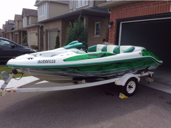 2000 Sea Doo Brp Challenger For Sale In Niagara Falls On L2h Seadoo Boat Design Jet Boats