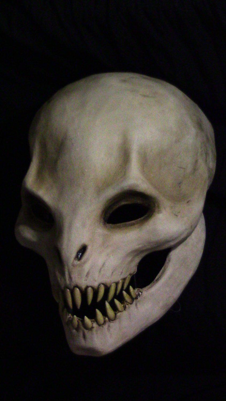 Voracity Original Resin Cast Mask Optional LED's