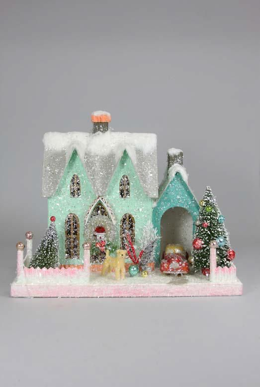 cody foster retro revival house cardboard house cody foster will always always always be my favorite of christmas houses