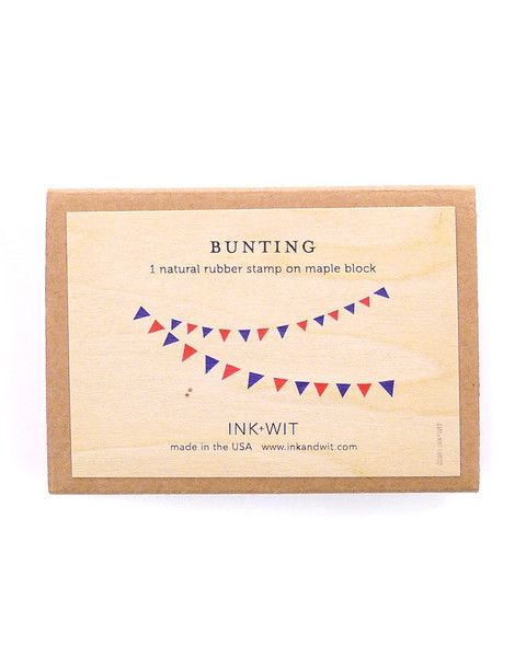 Final Sale Bunting Stamp