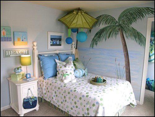 Girls Room Beach Theme Bedroom 11 Image Bedroom Themes Beach