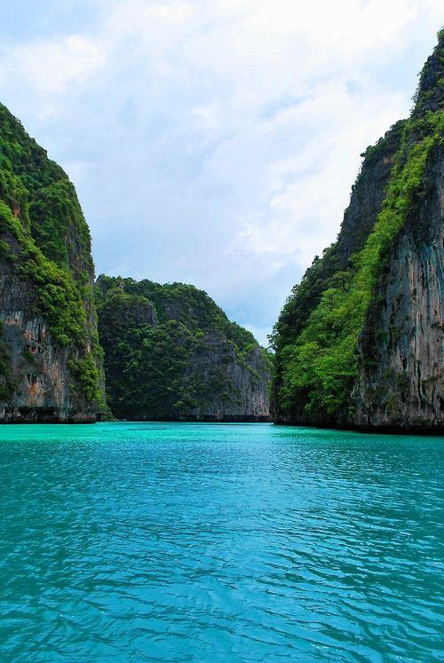 Turquoise Sea,Thailand
