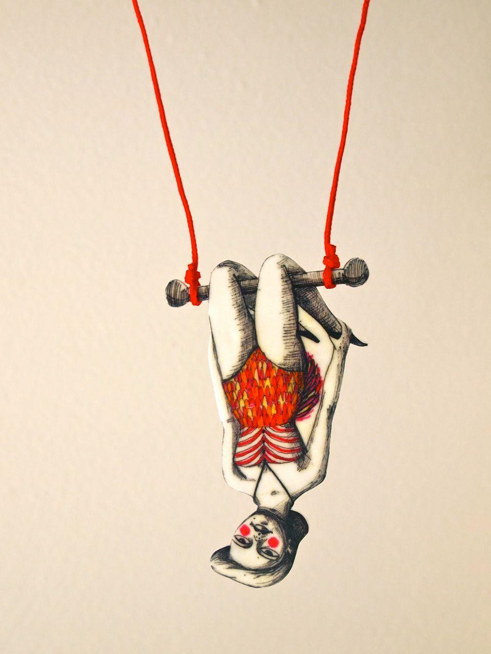 Trapeze Circus Girl Drawings