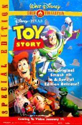 Toy Story Special Edition Movie Poster 27x40 Used Walt Disney Pixar Wallace Shawn, Laurie Metcalf, Tim Allen, Shane Sweet, Jim Varney, Greg Berg, Erik von Detten, Penn Jillette, Don Rickles, Ryan O'Donohue, Phil Proctor, Sarah Freeman, Tom Hanks