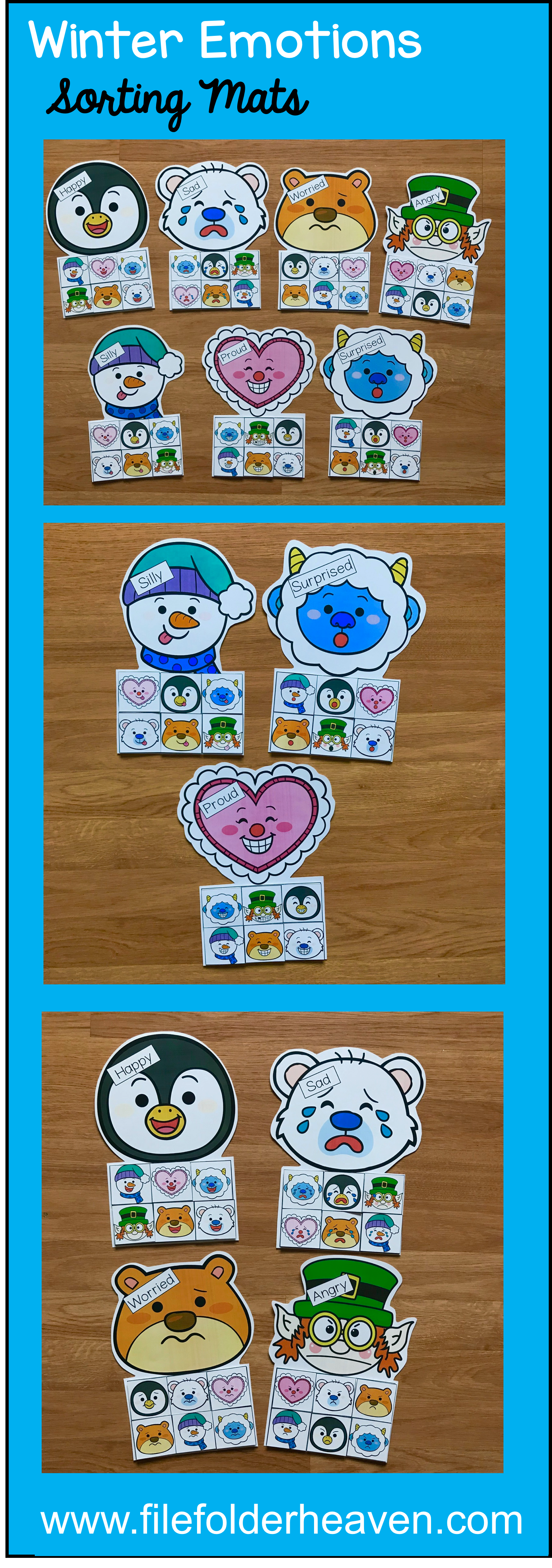 These Winter Emotions Sorting Activities Offer A Fun And