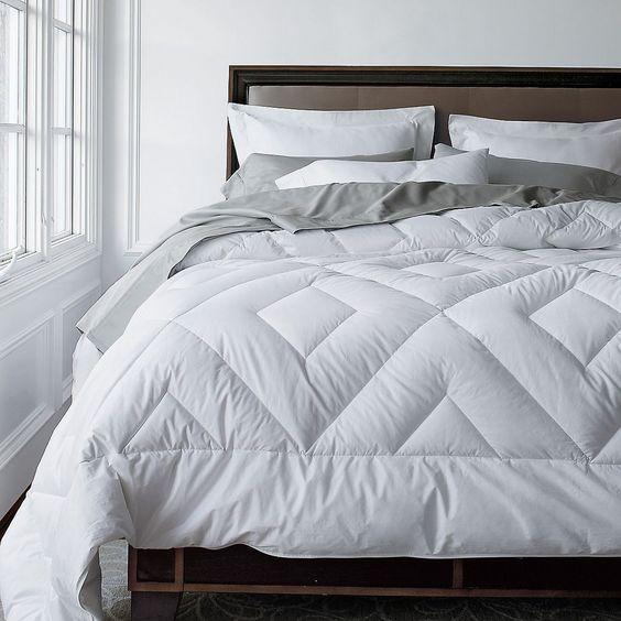 Double Diamond Supersize Goose Down Extra Warmth Comforter