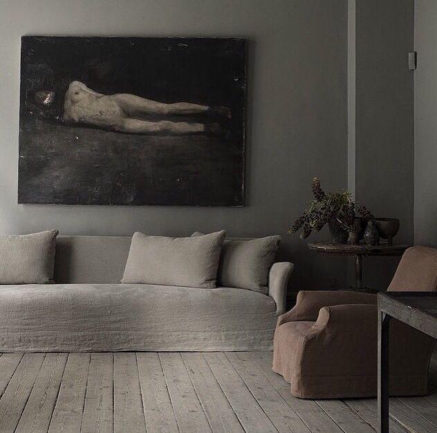 Monochromatic Living Room Houzz Com: Studio Oliver Gustav, Monochromatic, Muted Tones, Soft