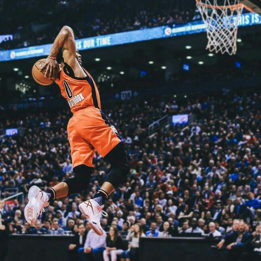 Knight Basketball Player Wallpaper: Russell Westbrook