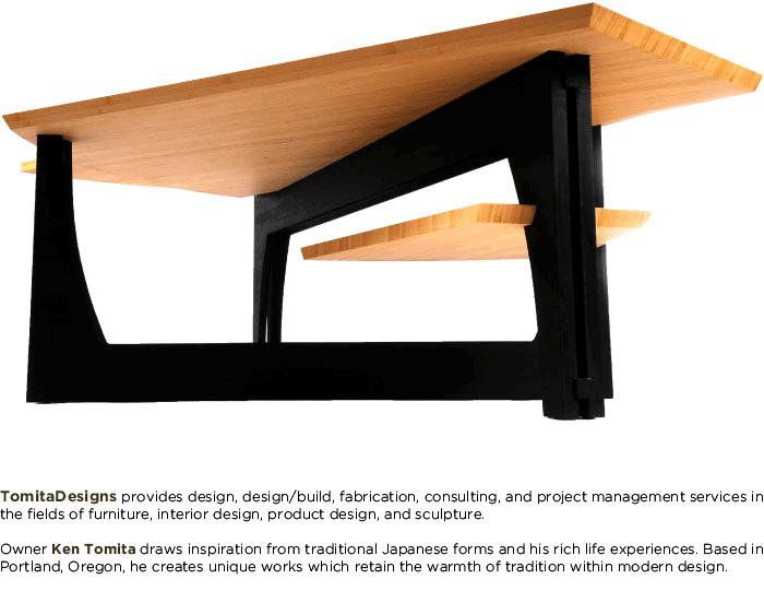 Tomita Designs | Furniture | Pinterest | Bamboo furniture, Desks and ...