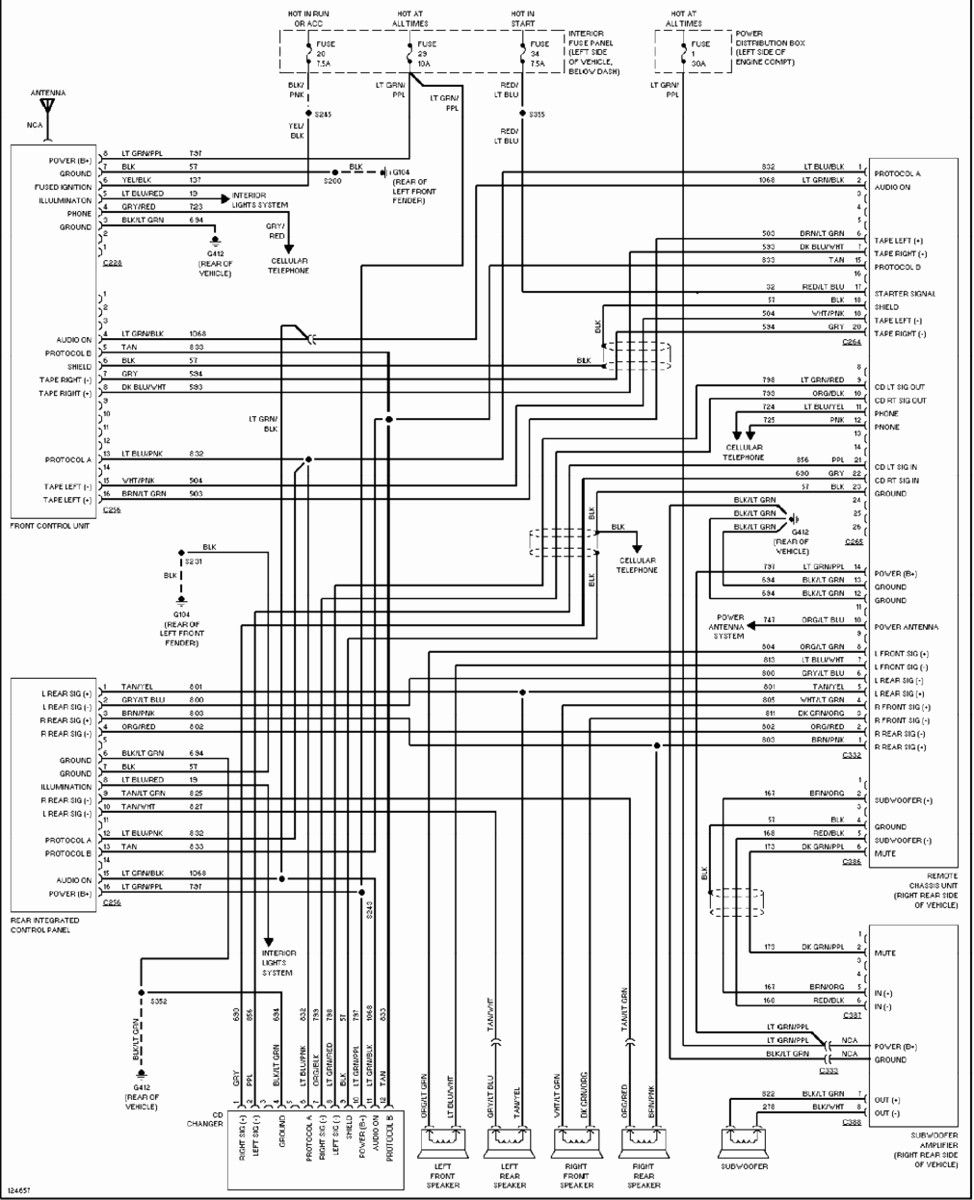 1998 Ford Explorer Radio Wiring Diagram New Di 2020