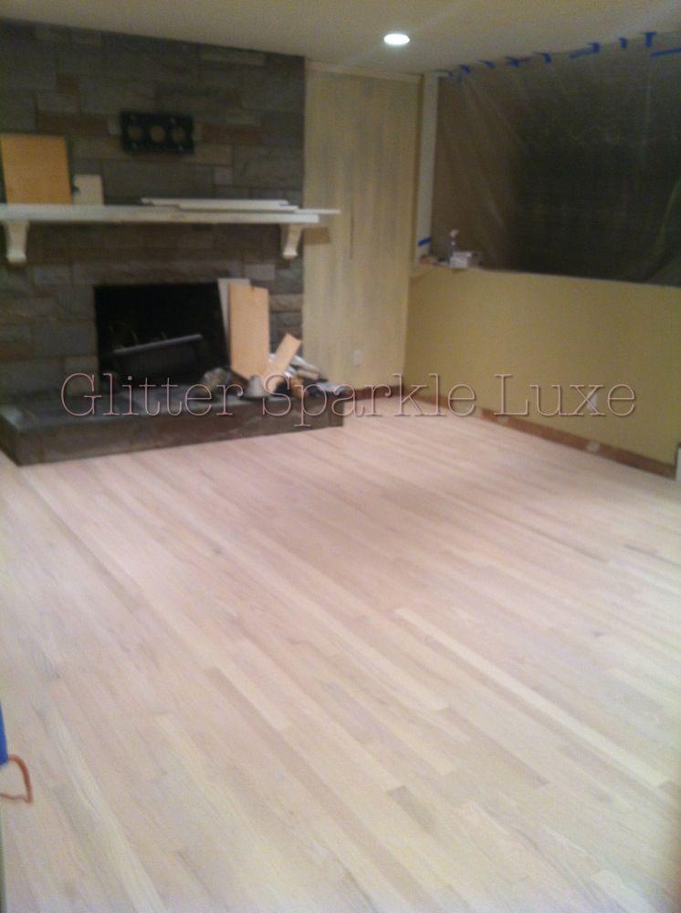 White Wood Floor Stain White Wash Pickling Stain Minwax Living