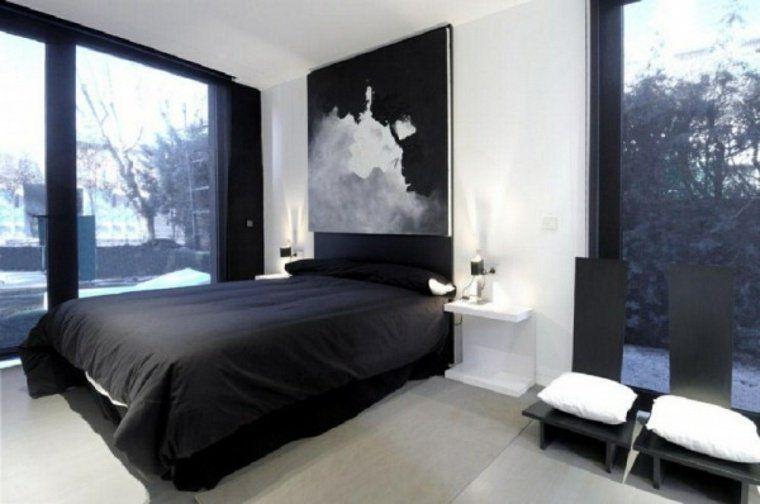 Deco Noir Et Blanc Chambre A Coucher 25 Exemples Elegants Deco