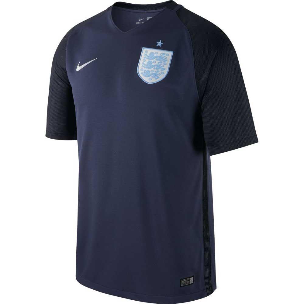Nike England 2016 2017 Third Soccer Jersey Brand New Navy Blue Sky Blue Ebay Blue Football Shirt Soccer Jersey Football Shirts