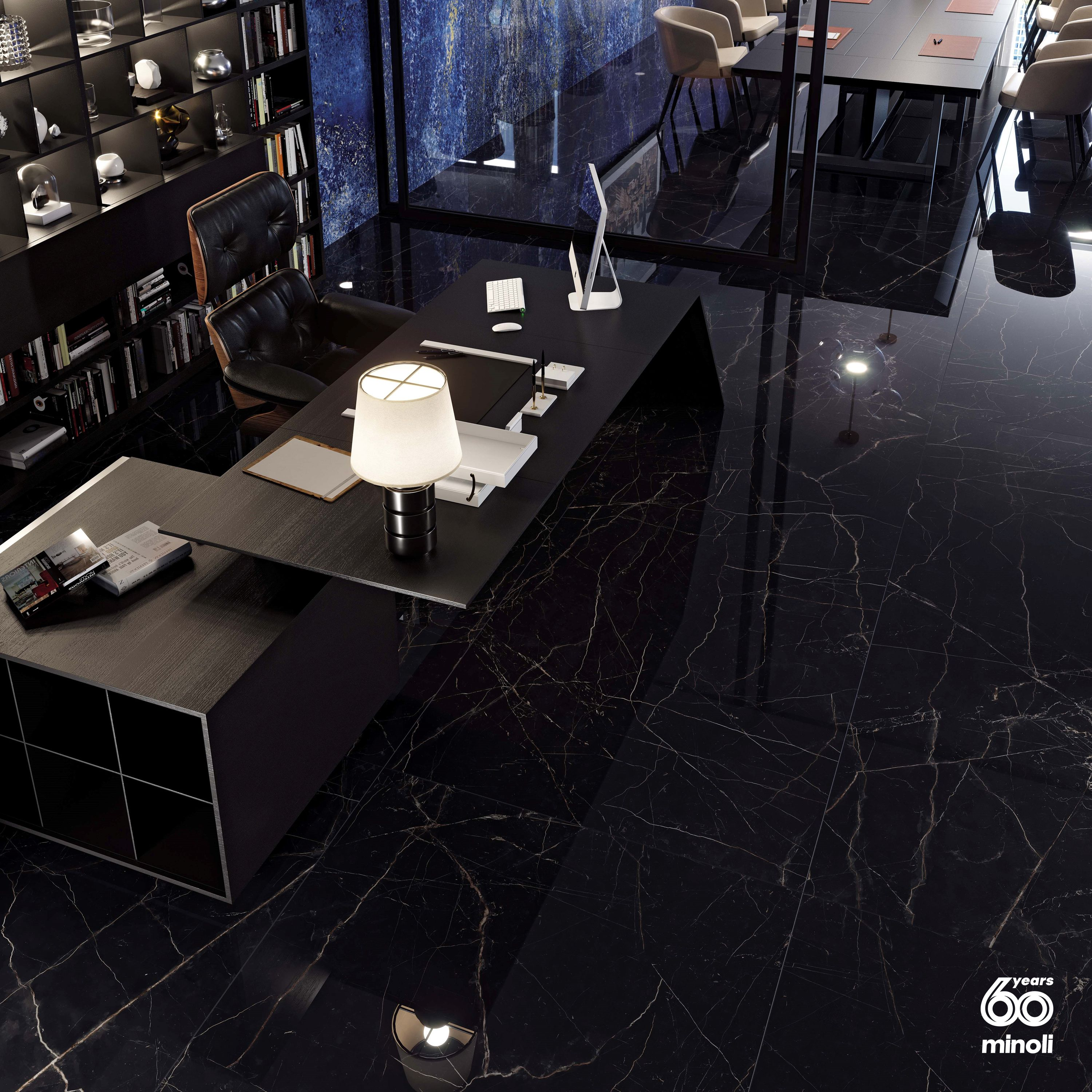 Minoli Marvel Black Atlantis In 2020 Black Marble Tile Marble
