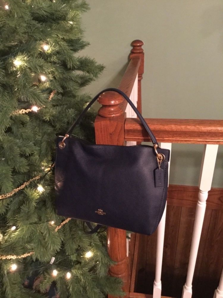 d39e9e9d92 24947 Coach Clarkson Med Hobo Cadet Blue Leather  350 New Color ~only 1 on  EBay
