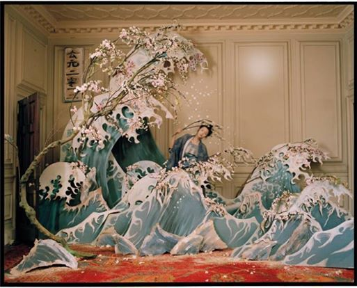 FB | The Red List. | Hokusai by Tim Walker