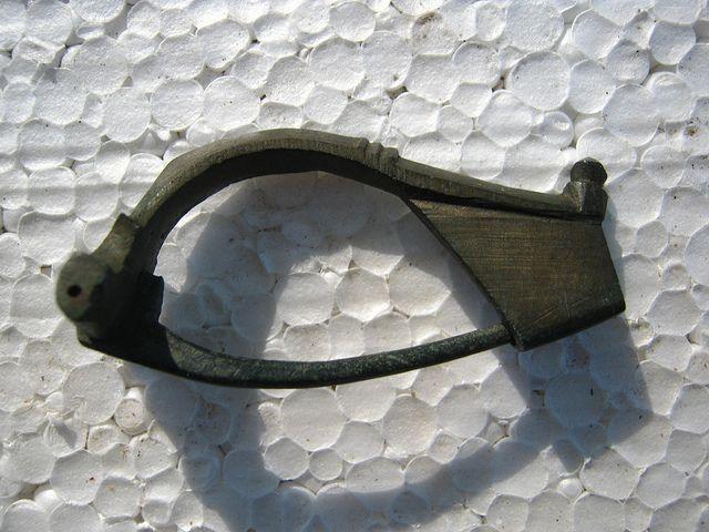 Roman brooche (fibula) found at Desa (Dolj, Romania)