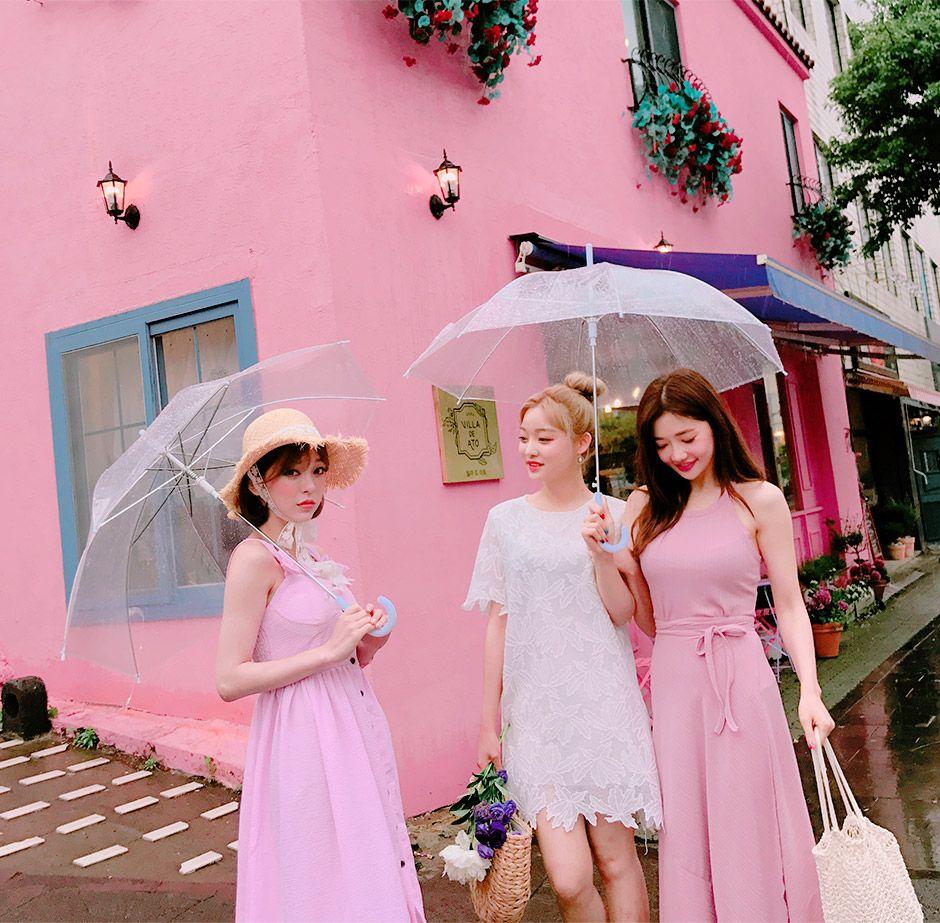 chuu_츄 - 츄(chuu) | 예뻐서 그래 top+skirt set | NEW
