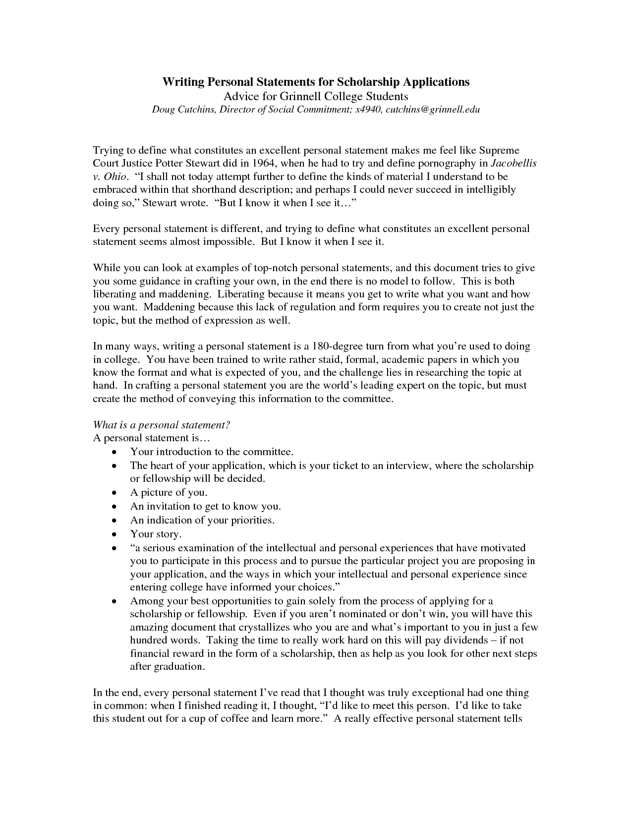 how to write a personal statements | Cover Latter Sample | Pinterest