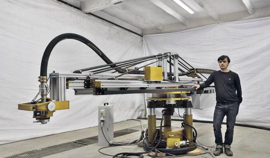 5 Axis 3D Printer Homemade 5axis 3D printer constructed