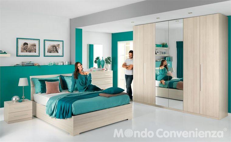Camera da letto eleonora camera completa camere - Mondo convenienza camere da letto complete ...