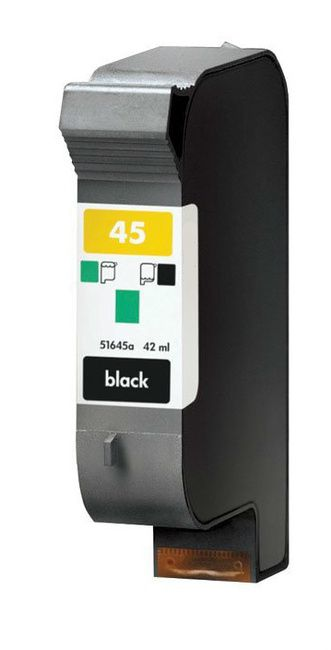 3PK For HP 15 For HP For HP C6615DN Black Ink Cartridge 42ML