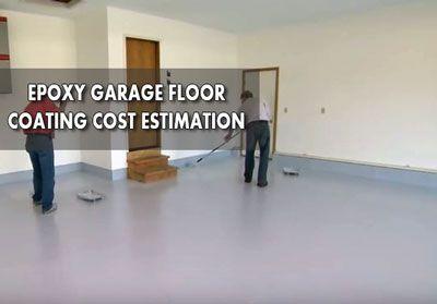 Garage Floor Coating Costs Breaking