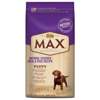 Max Dog Natural Chicken Meal And Rice Recipe Puppy Food 15 Pound