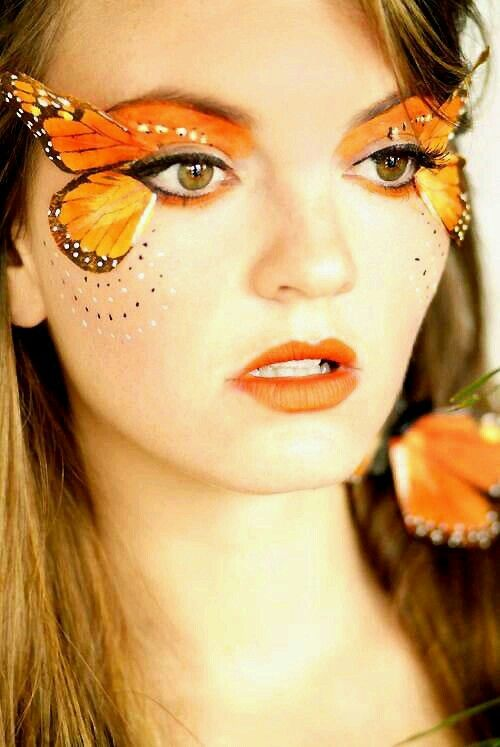 Butterfly Eye Lash Make-Up. WOW!