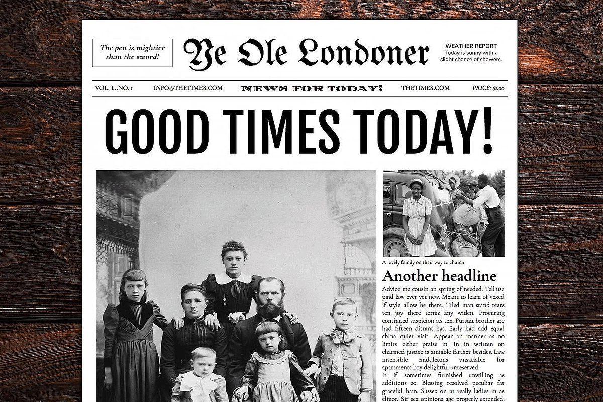 Google Docs Old Newspaper Template Newspaper Template Newspaper Template Word Newspaper Front Pages