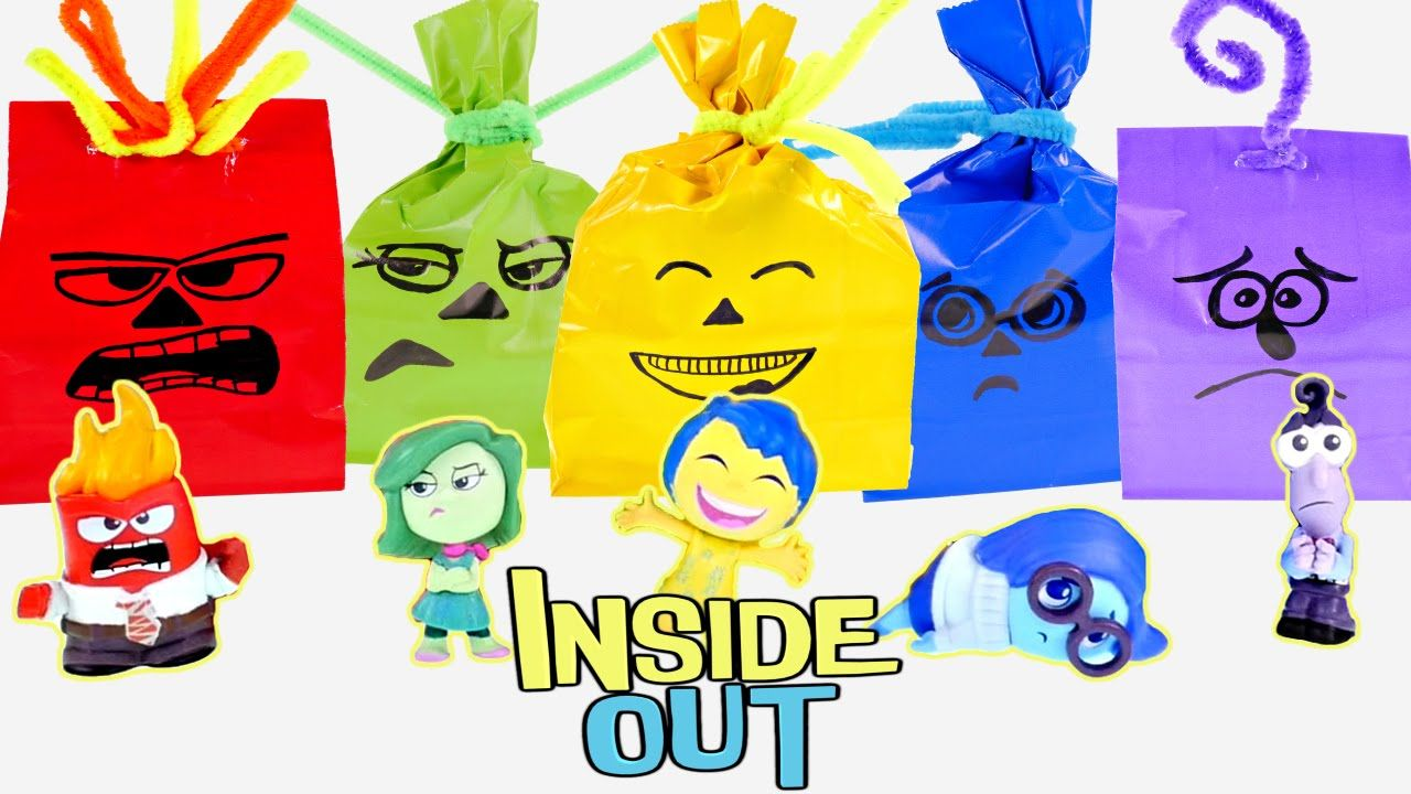 Inside out halloween surprise treat bags do it yourself disney pixar inside out halloween surprise treat bags do it yourself disney pixar toy solutioingenieria Gallery