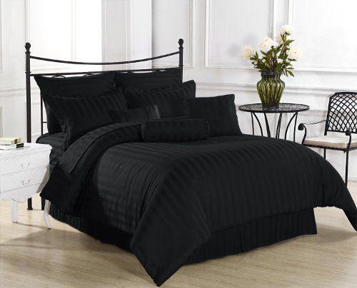 Pin By Jennifer Delgado On Bedroom Ideas Amp Diys Comforter Sets Comforters Black Bed Covers