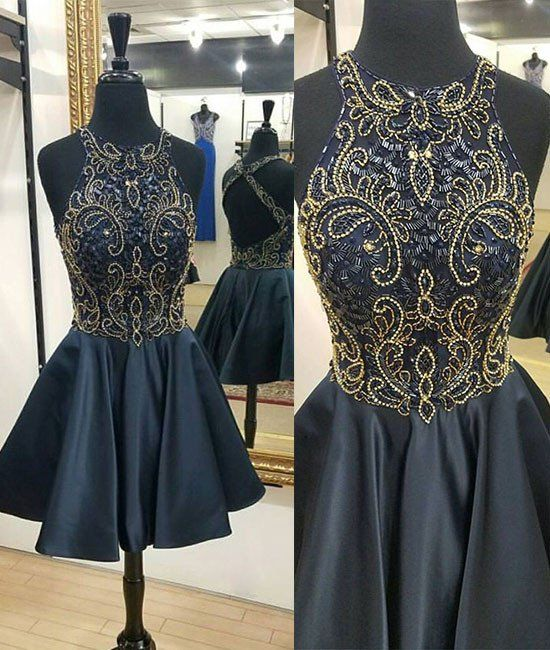 4dac5eaa524 2017 beading bodice homecoming dresses