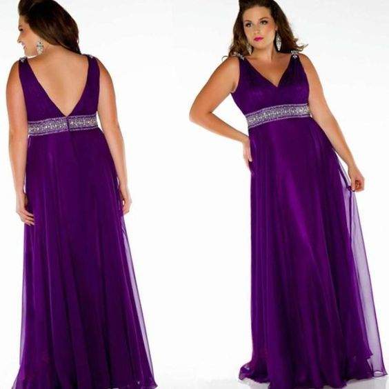 Plus Size Bridesmaid Dresses Purple Http Pluslook Eu