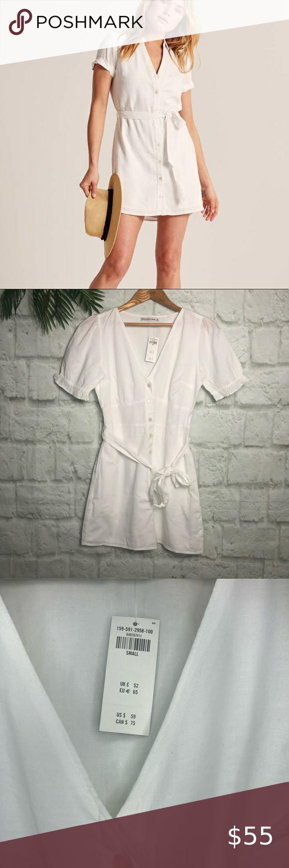 NEW Linen Blend Sleeveless Shirt Dress WHITE NAVY BLUE Floral Print Sizes 16 18