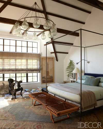 Bedroom Wood Ceiling Ideas Upholstered Bed Bedroom Bedroom With Bench Ideas Bedroom Ceiling Lighting Fixtures: Tudor Revival Style Bedroom