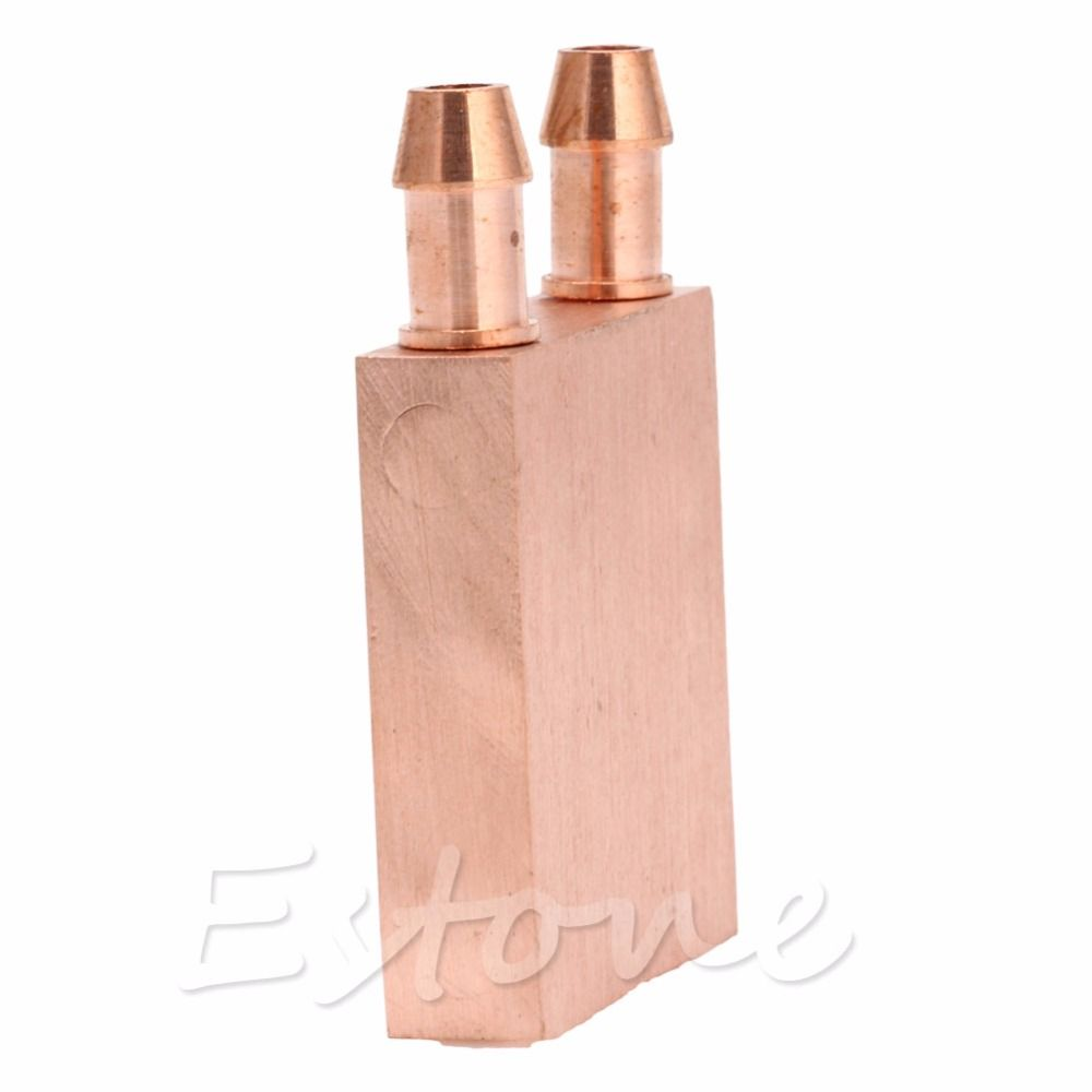 Copper Water Cooling Block Cpu Pc Computer For Graphics Gpu