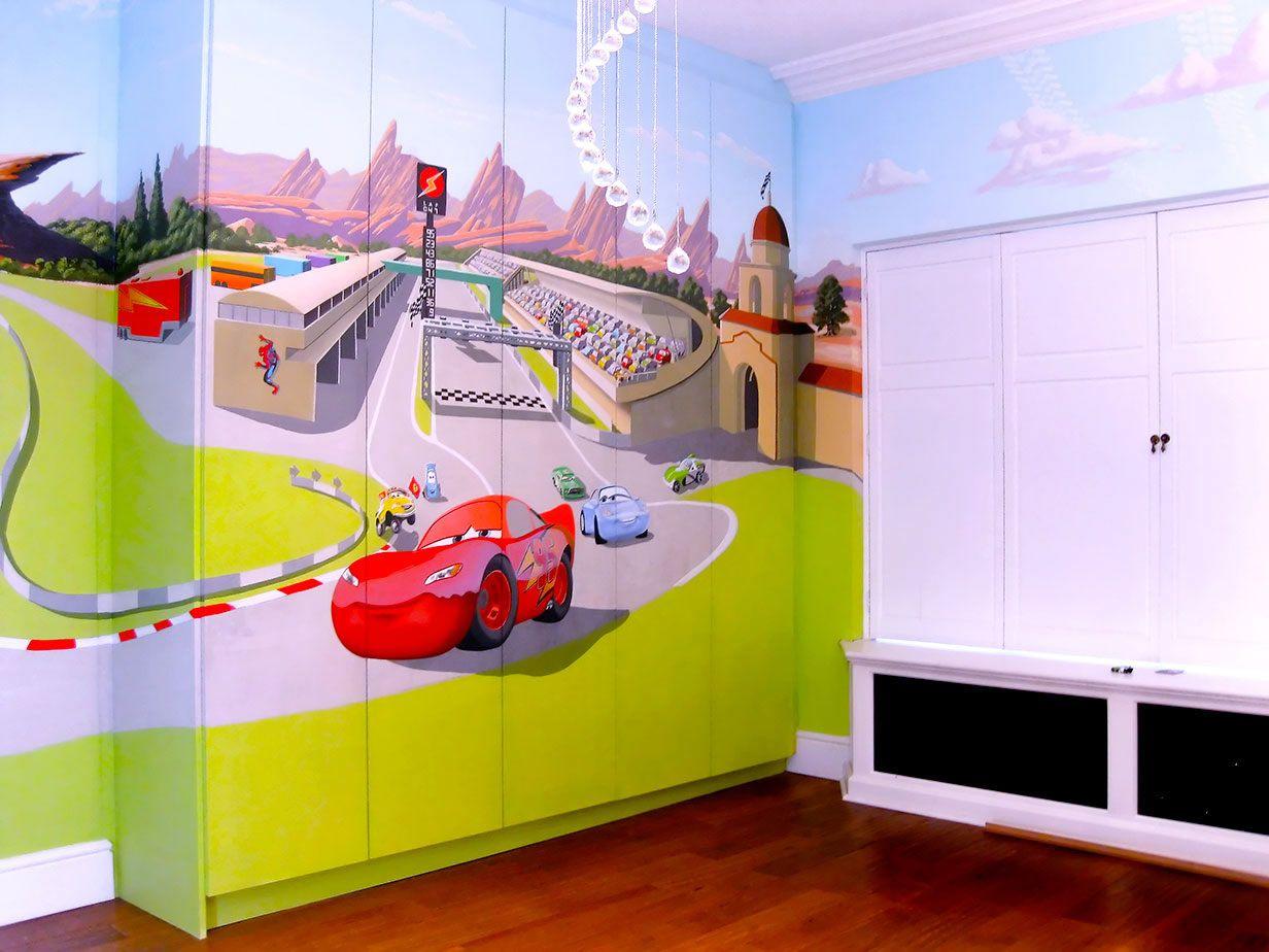 baby spice girl bedroom mural cars baby