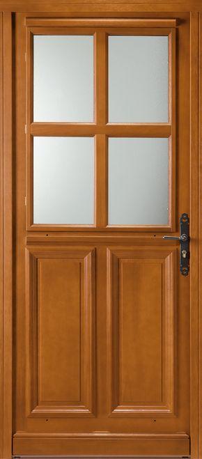 Porte vitrée 4 carreaux sur-mesure, devis et pose Menuiseries