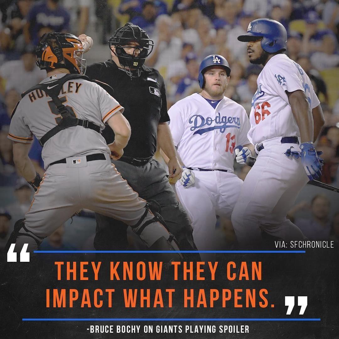 On The Final Weekend This Rivalry Still Has Life Septemberbaseball Bruce Bochy Baseball Major League Baseball