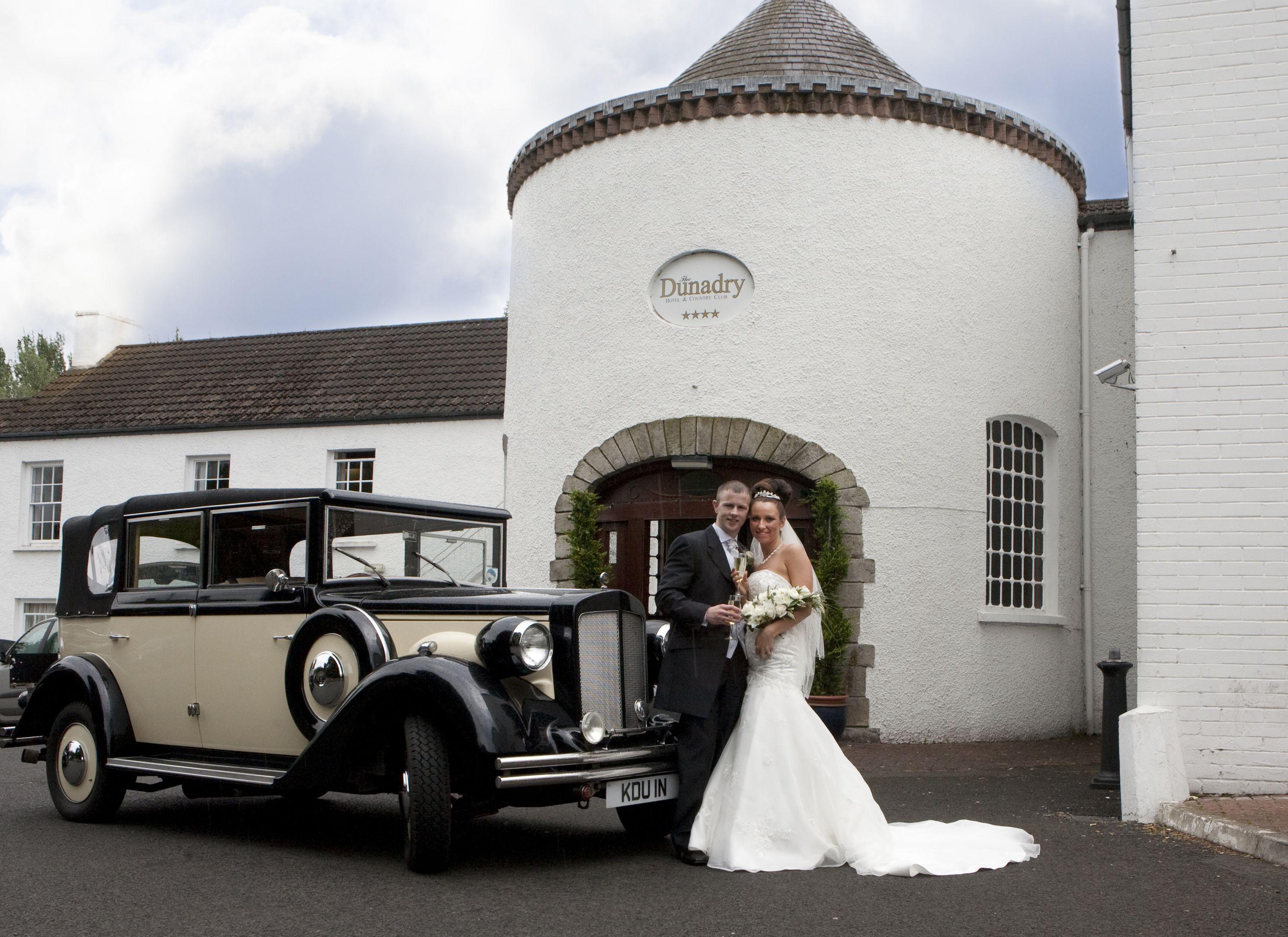 Dunadry Hotel Country Club Belfast Wedding Car Wedding Belfast