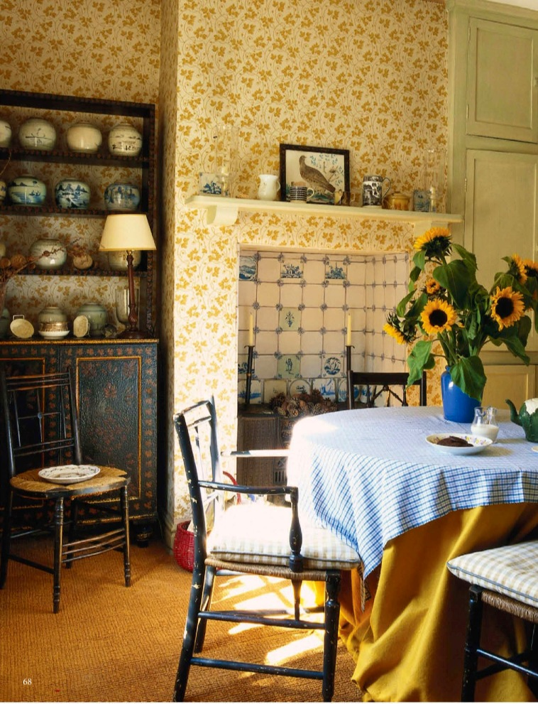NOW AND THEN: Dreamy English Country Cottages by Colefax and Fowler ...