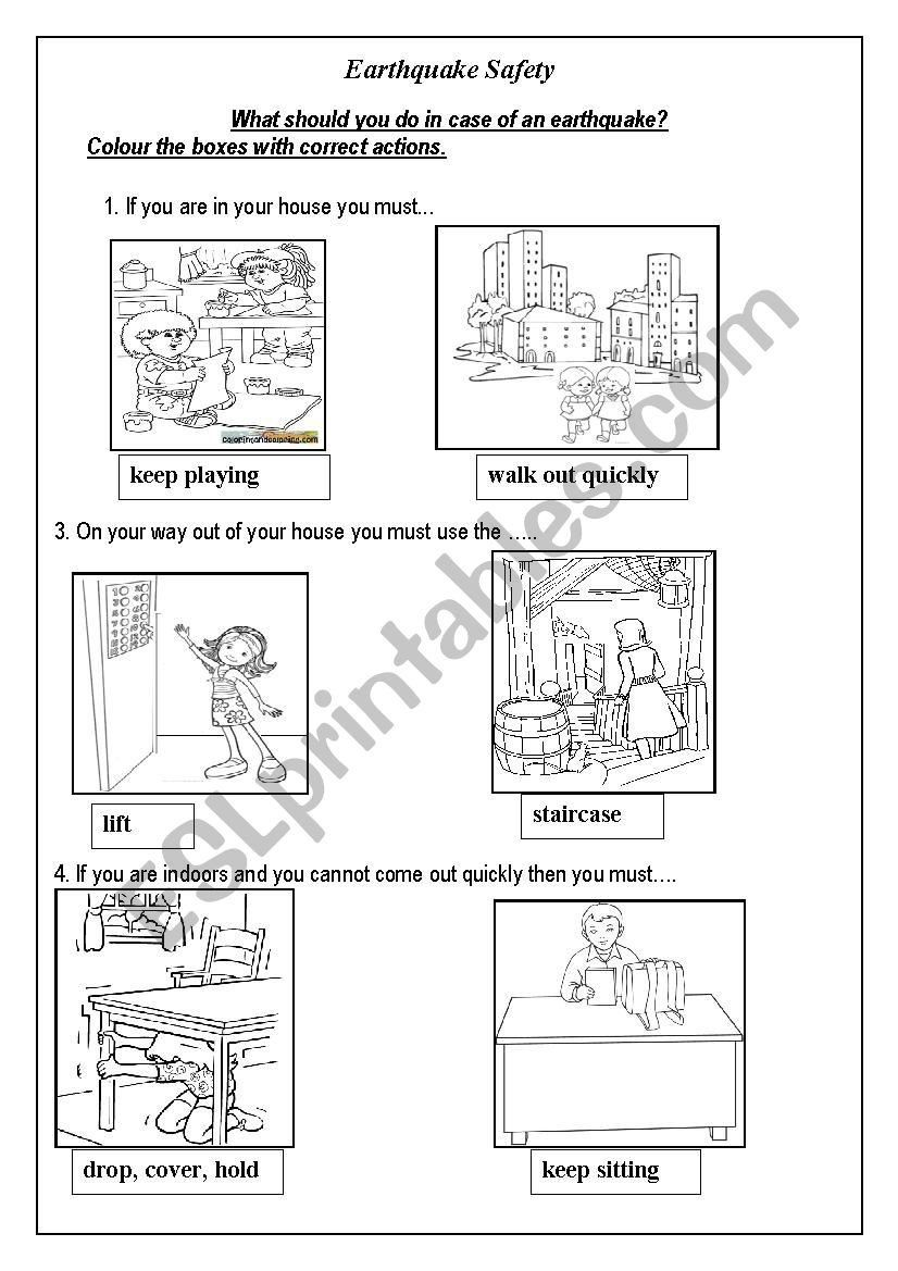 Earthquake Worksheets Middle School Adding Grade 1 Cold War Activities Worksheets Te Kindergarten Worksheets Worksheets For Kids Shape Worksheets For Preschool