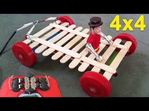 How To Make A Rubber Band Powered Car Out Of Popsicle