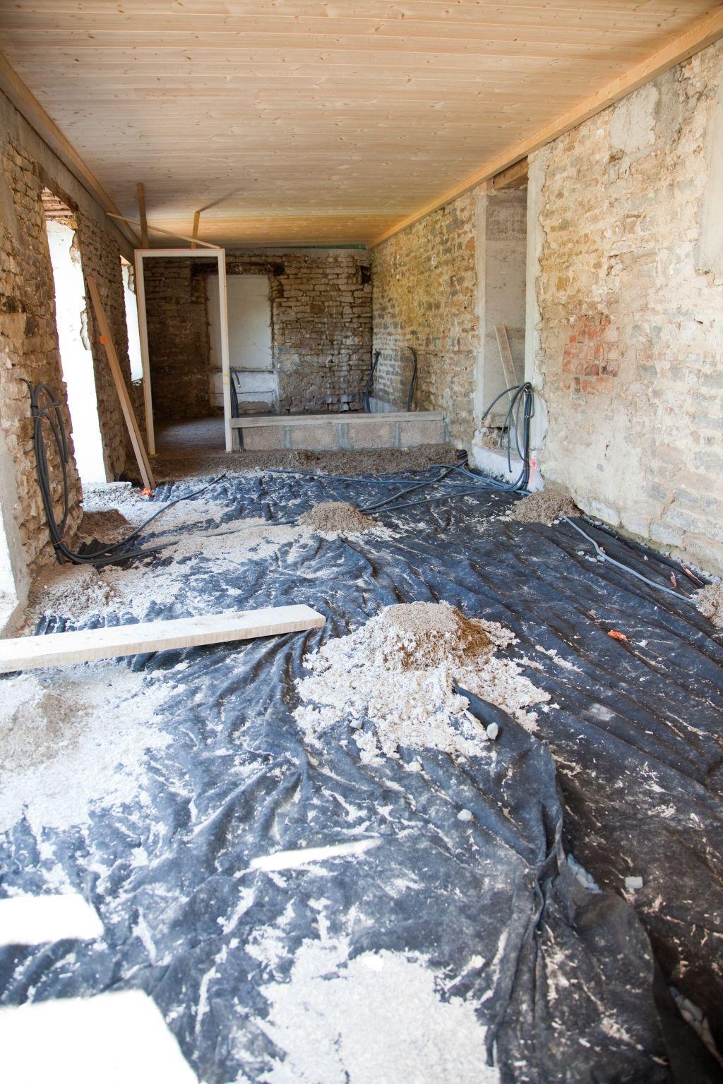 Isoler un sol avec du béton de chanvre  DIY Family  Rénovation