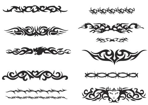 Tribal Armband Tattoos For Men