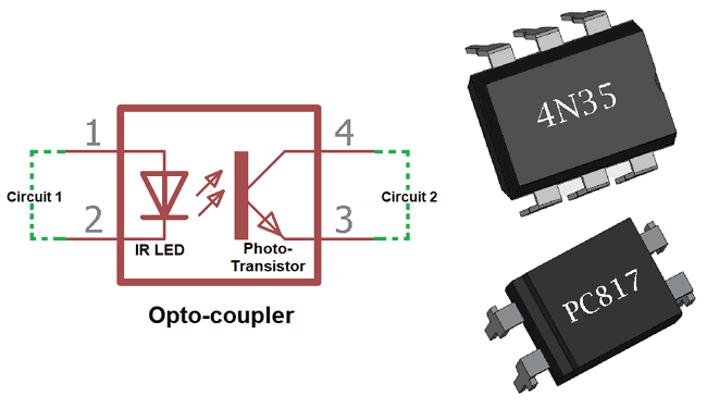 What is Optocoupler: Its Types and Various Application in DC ... Opto Isolator Circuit Schematics on electrical schematic, audio schematic, gps schematic, amp schematic, switch schematic, sensor schematic, power schematic, relay schematic, inductor schematic, electronic schematic, wireless schematic, motor schematic,