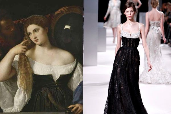 Bon Anniversaire to The Louvre: 12 Runway Looks Inspired by the Museum's Most Iconic Paintings