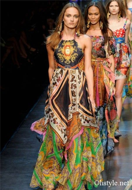 02b646813bde Dolce and Gabbana Spring summer 2012 | the hippie in my soul ...