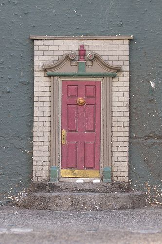 fairy door attach to building - I'm going to make one to